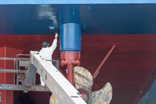 船舶清掃・船舶塗装作業